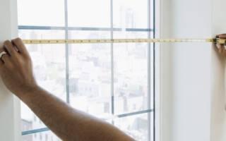 Как замерить окна для замены на пластиковые