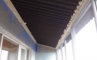 Как утеплить крышу балкона на последнем этаже