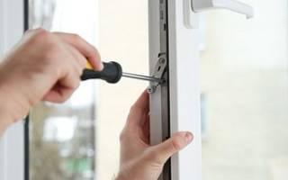 Как отрегулировать окна ПВХ на зиму
