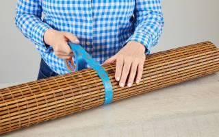 Ремонт бамбуковых жалюзи