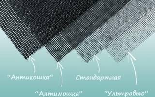 Москитные сетки антикошка на пластиковые окна
