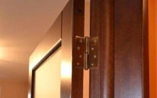 Какие бывают доборы для межкомнатных дверей?