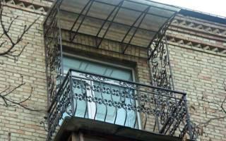 Отделка открытого балкона в хрущевке без остекления