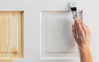 Можно ли покрасить двери покрытые лаком краской?