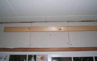 Как прикрепить пенопласт к потолку?