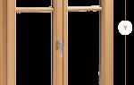 Элитные деревянные окна со стеклопакетом