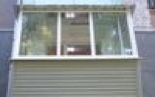 Сколько стоит отделать балкон пластиком