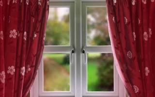 Расчет ширины штор на окно