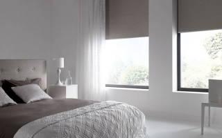 Рулонные шторы блэкаут на пластиковые окна
