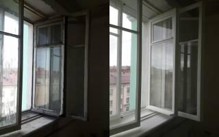 Восстановление старых деревянных окон