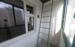 Можно ли убрать пожарную лестницу с балкона