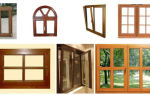 Немецкие деревянные окна со стеклопакетом