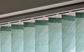 Как ухаживать за жалюзи из ткани