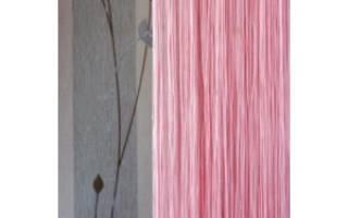 Как распутать шторы нити со стеклярусом?