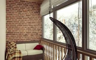 Дизайн маленькой лоджии в панельном доме