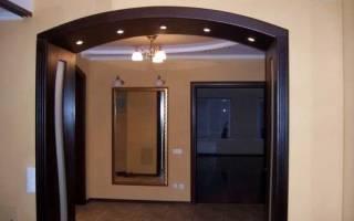 Как поставить арку в дверной проем?