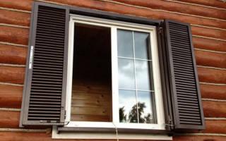 Стальные ставни на окна