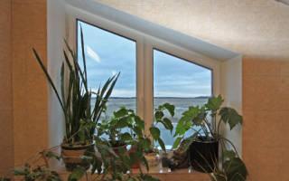 Минимальная ширина створки пластикового окна