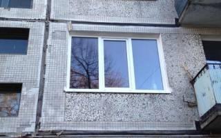 Размер кухонного окна в панельном доме