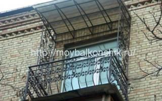 Как сделать навес на балконе своими руками