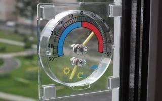 Как закрепить термометр на пластиковое окно