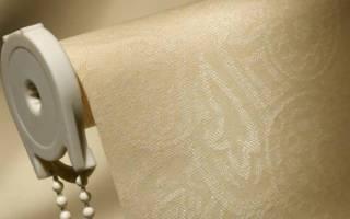 Как помыть рулонные жалюзи в домашних условиях