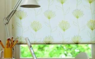 Как сделать рулонные шторы своими руками?