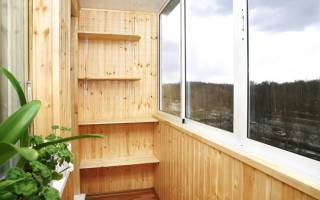 Как рассчитать вагонку на балкон