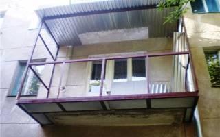 Сколько метров балкон в хрущевке