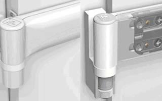 Как снять металлопластиковую дверь с петель?