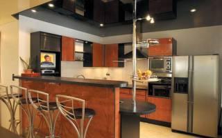 Можно ли ставить натяжные потолки на кухне?