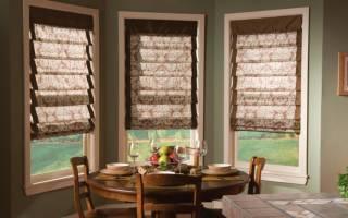 Как крепится римская штора на пластиковое окно