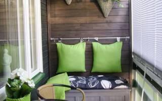 Как обустроить маленький балкон в панельном доме