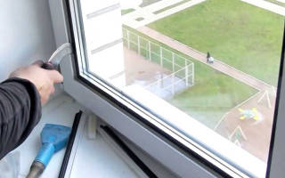 Замена одинарного стекла на стеклопакет