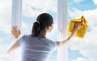 Чем отмыть пластиковые окна от грязи