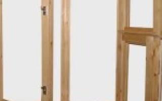 Как сделать окно с форточкой из дерева