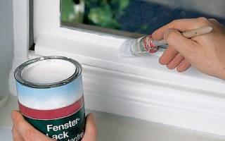 Краска для деревянных окон без запаха