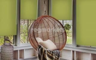 Рулонные шторы светонепроницаемые на пластиковые окна