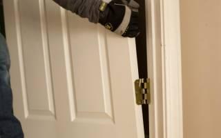 Как снять межкомнатную дверь с петель?