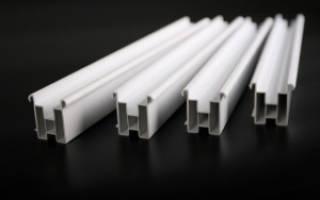 Установочный профиль для пластиковых окон