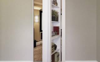 Как сделать потайную дверь в квартире?