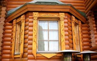 Виды наличников на окна