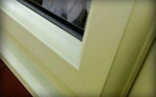 Как очистить пластиковые окна от желтизны