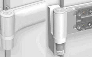 Как снять балконную пластиковую дверь с петель?