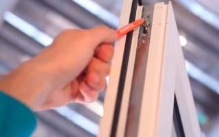 Как отрегулировать ручку на пластиковом окне