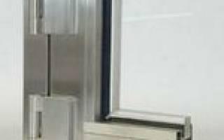 Стальные окна со стеклопакетом