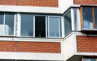 Остекление балкона в доме серии п 44