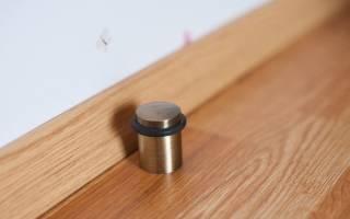 Как сделать ограничитель для двери своими руками?